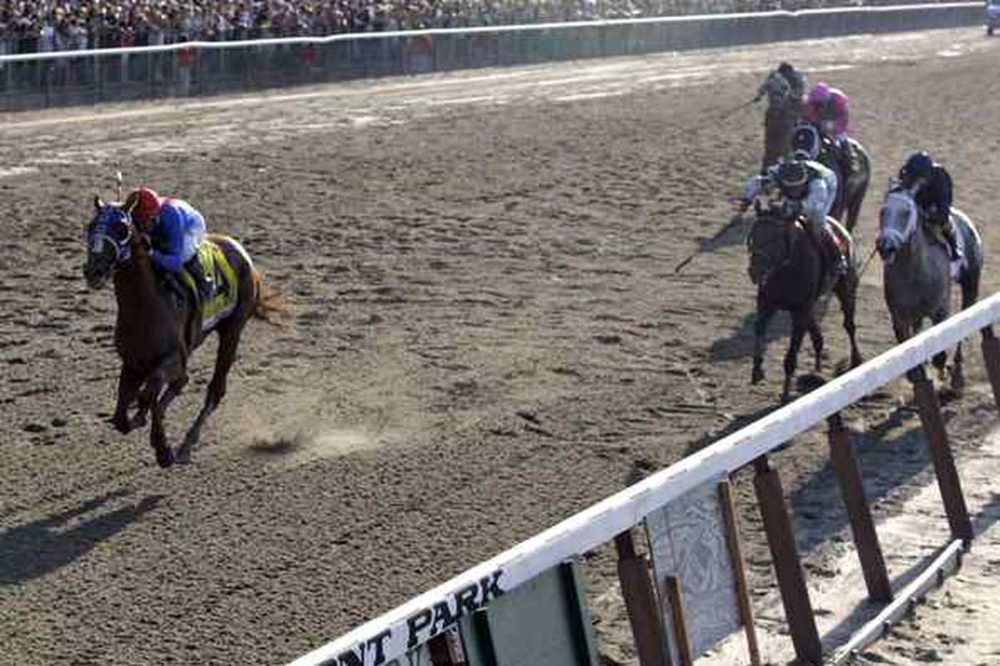 Summer Bird takes the Belmont