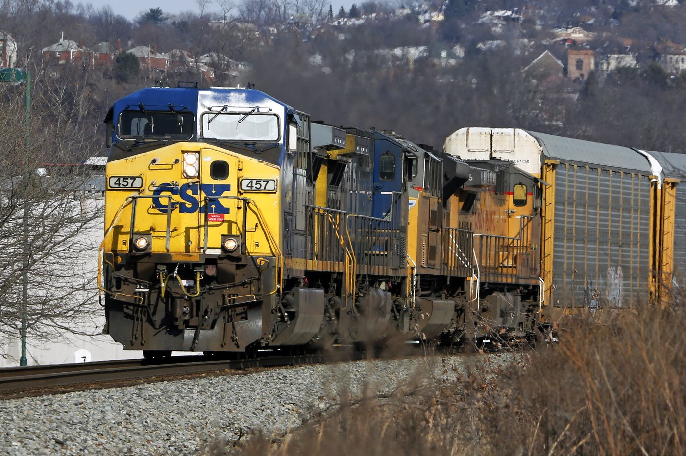 Man struck by CSX freight train in Philadelphia, loses foot