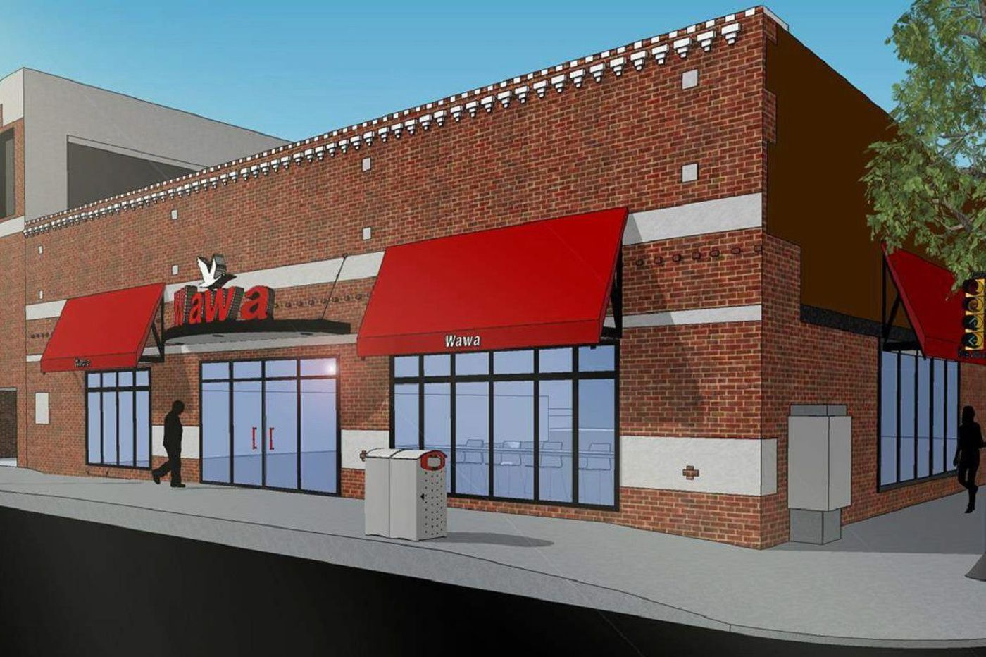 Wawa moving into building alongside Whole Foods for third South Street location