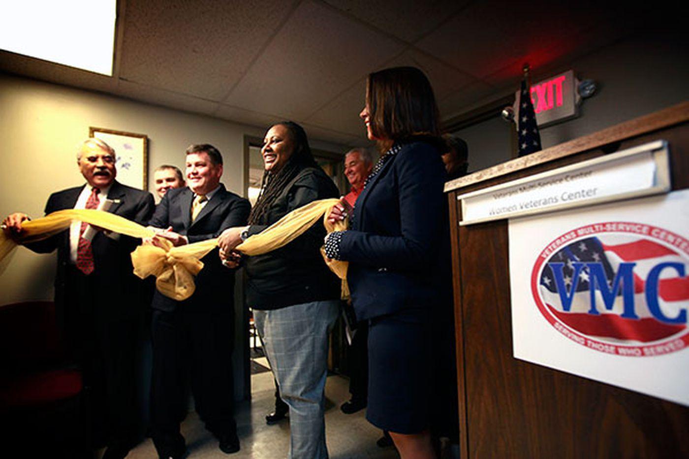 Center for female veterans opens in Old City