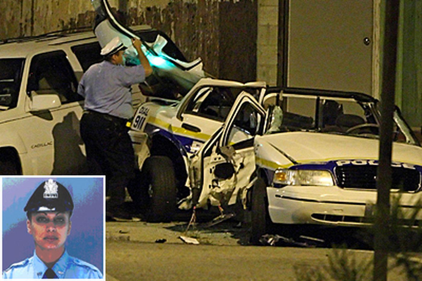 Officer dies in crash