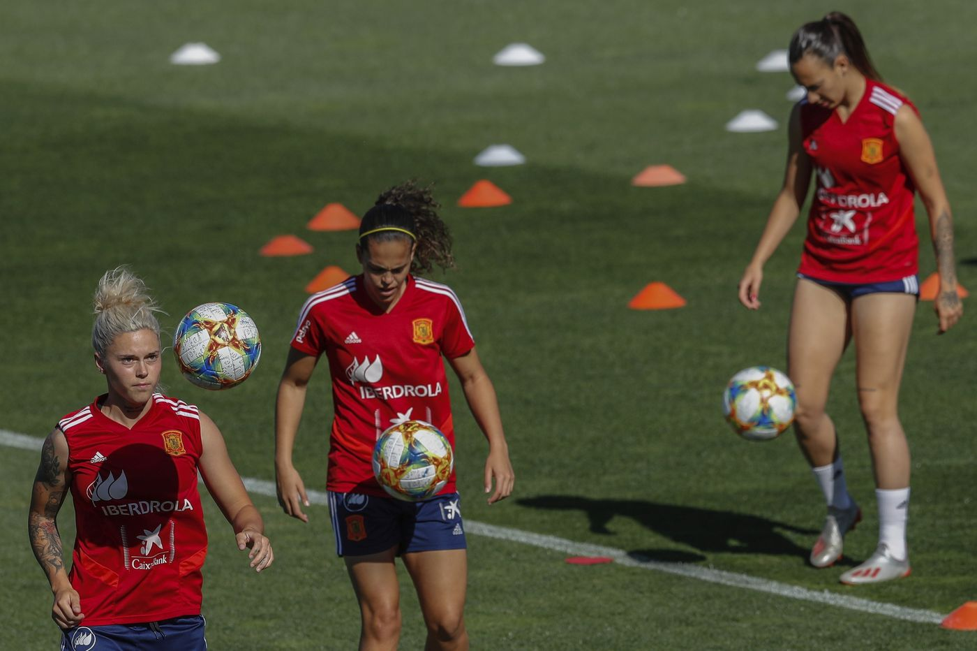 Fighting for rights, Spain women aim for landmark World Cup