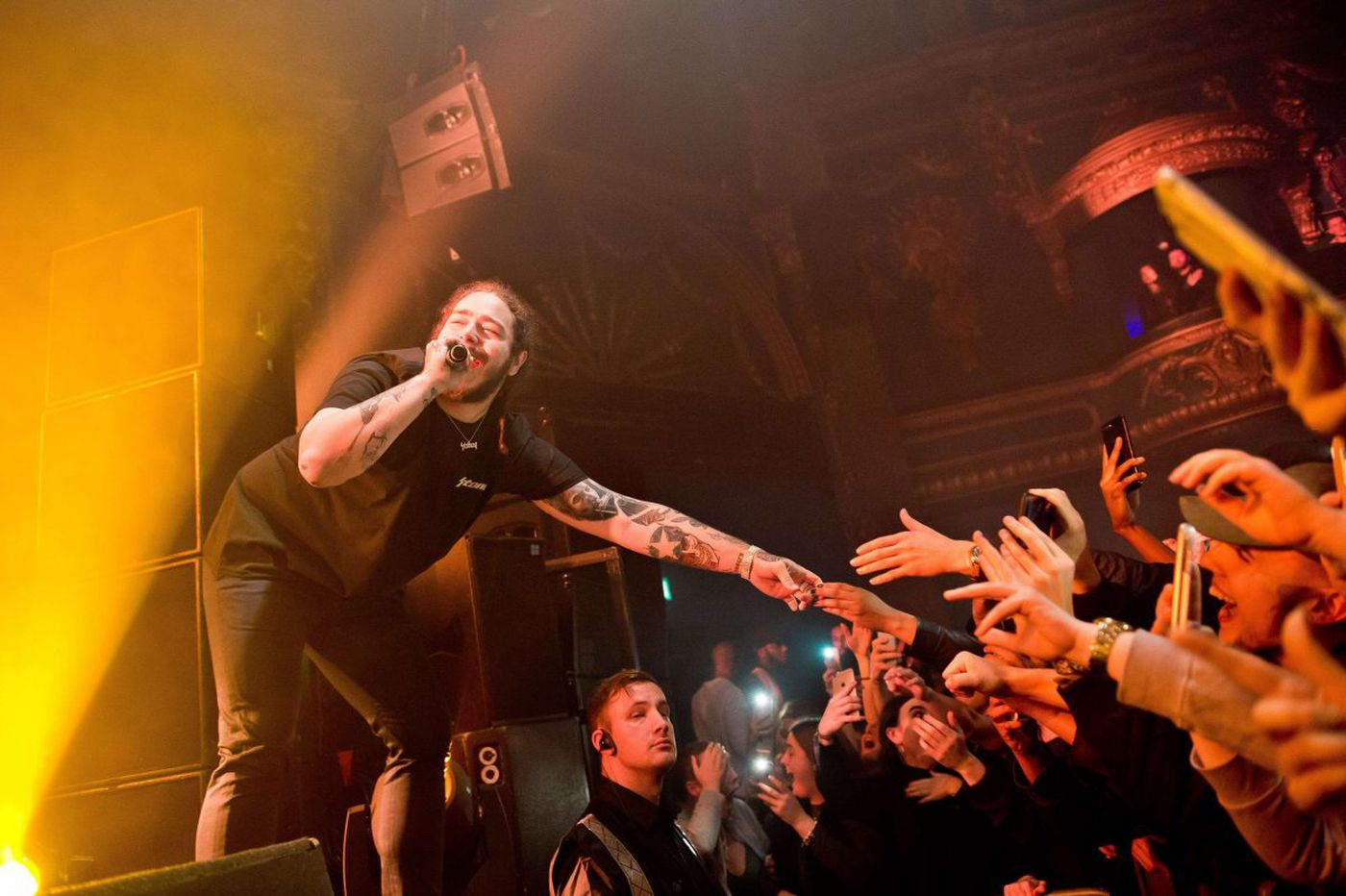 'But then again, I may be drunk': Post Malone takes on Festival Pier