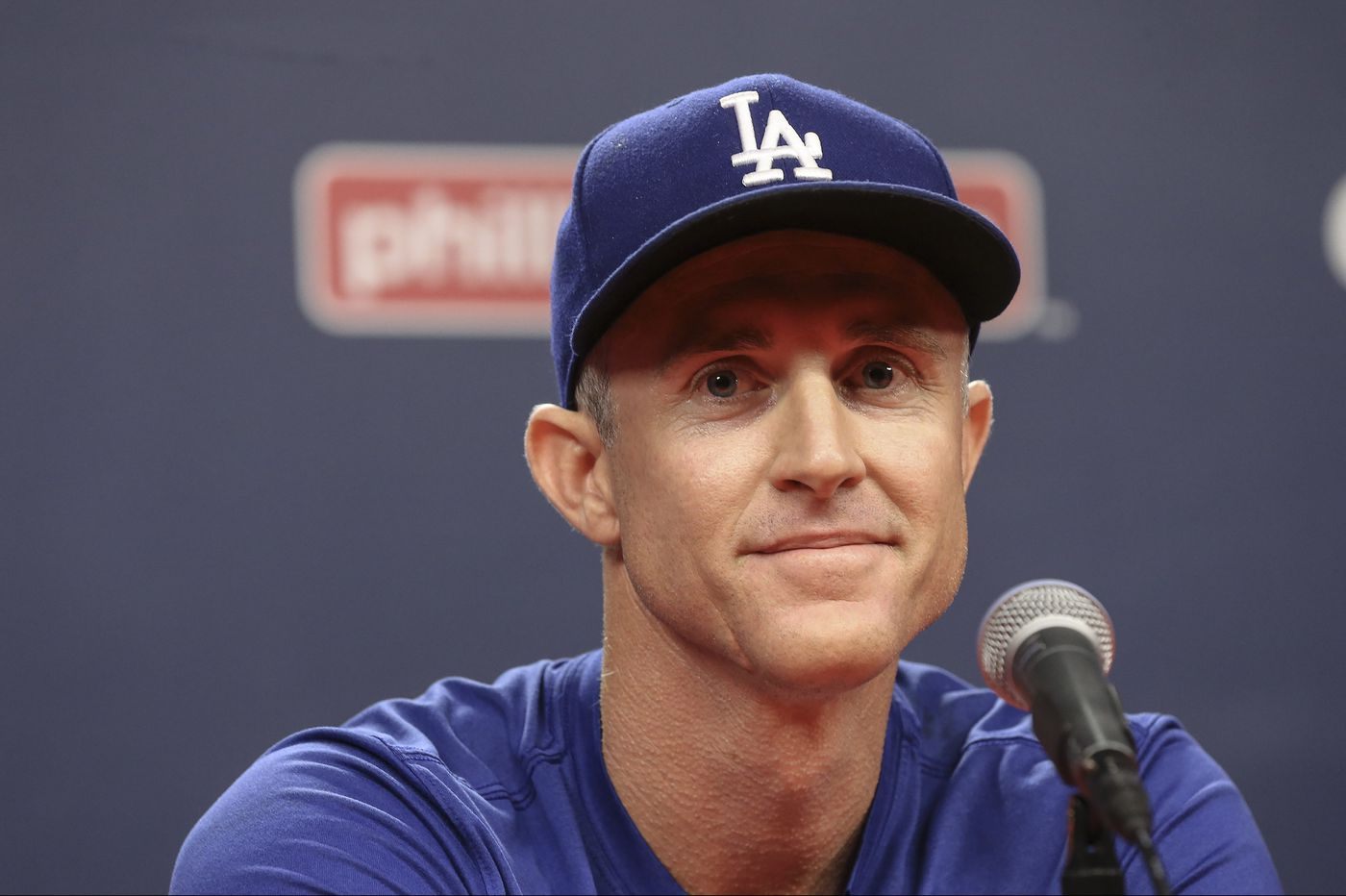 The Dodgers player (Enrique Hernandez) who calls Chase Utley 'Dad'