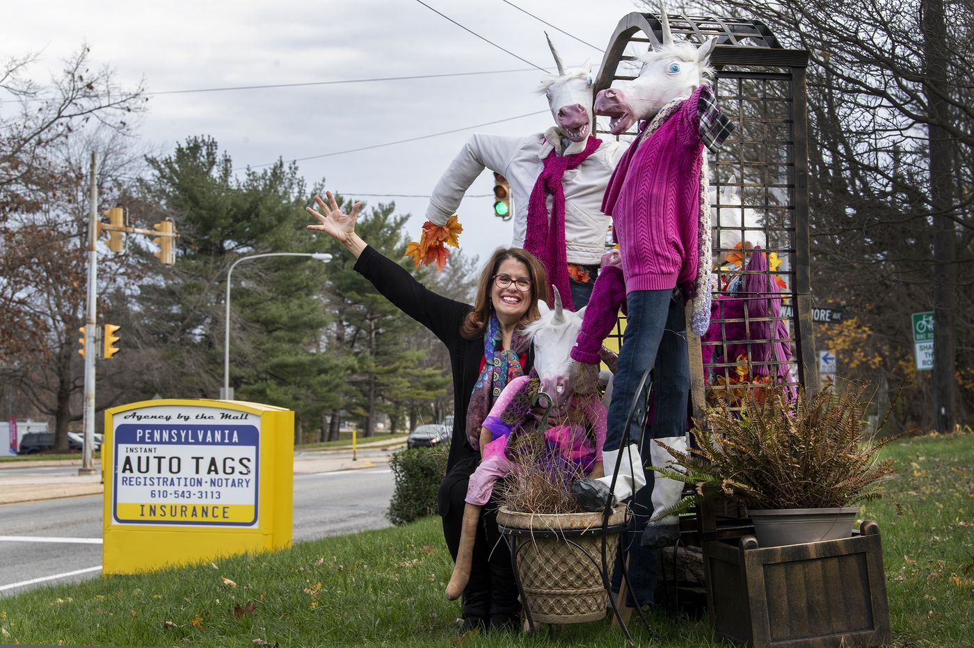 The lawn displays at her Delco biz are so legendary she's gone to court for them | We The People
