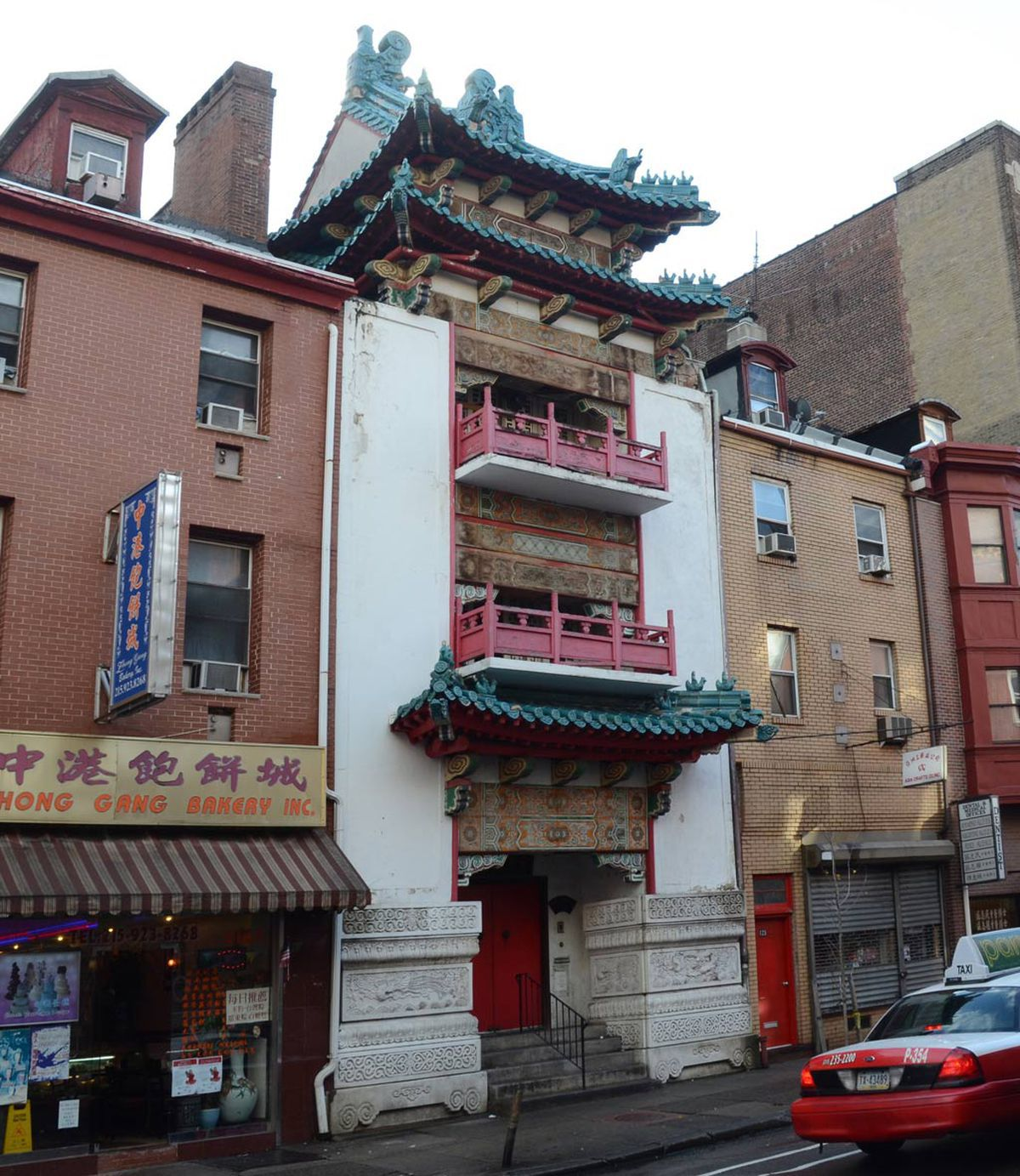 Landmark Chinese Cultural Center target of demolition permit