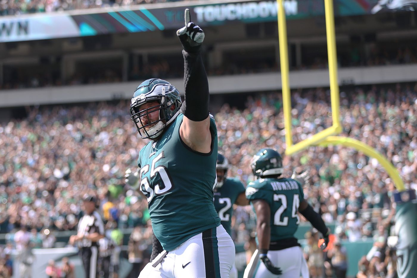 Eagles' Lane Johnson, Nate Gerry removed from Reserve/COVID-19 list and cleared for practice