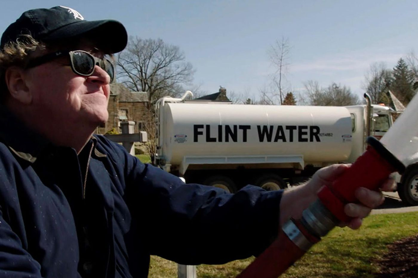 Michael Moore uses Flint to get fired up in 'Fahrenheit 11/9'