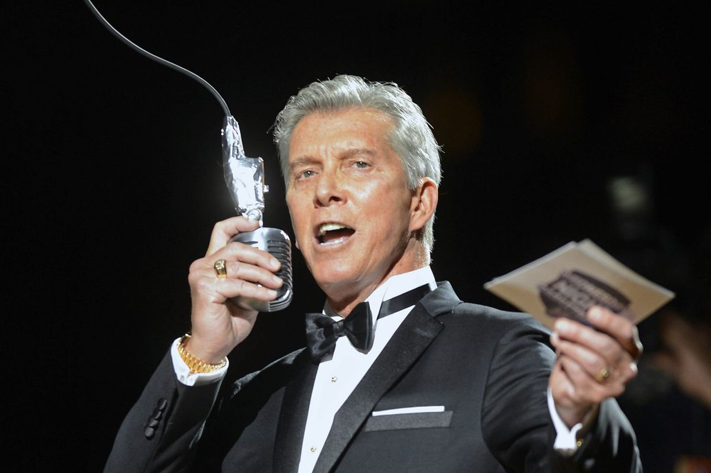 Michael Buffer is back in Philly and ready to rumble on the set of 'Creed II'