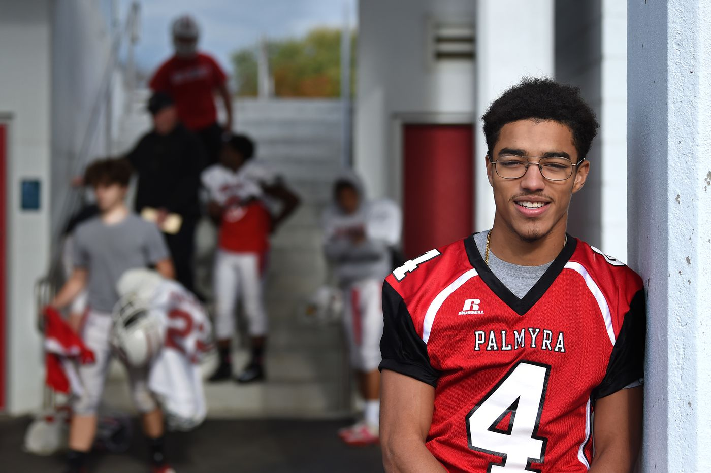 Palmyra's Sam Aviles sets South Jersey record for rushing yards by a quarterback
