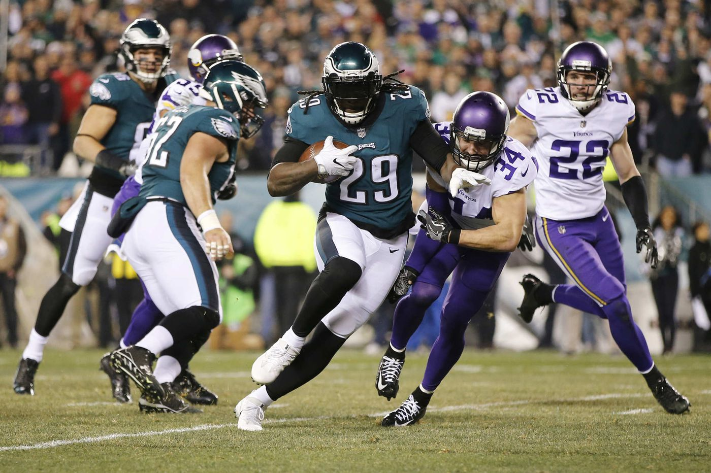 Andrew Sendejo, longtime Viking, might be able to help the Eagles prepare, Mike Groh suggests
