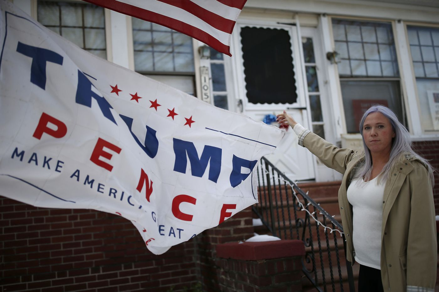Trump fan says she's getting hate in South Jersey's capital of tolerance