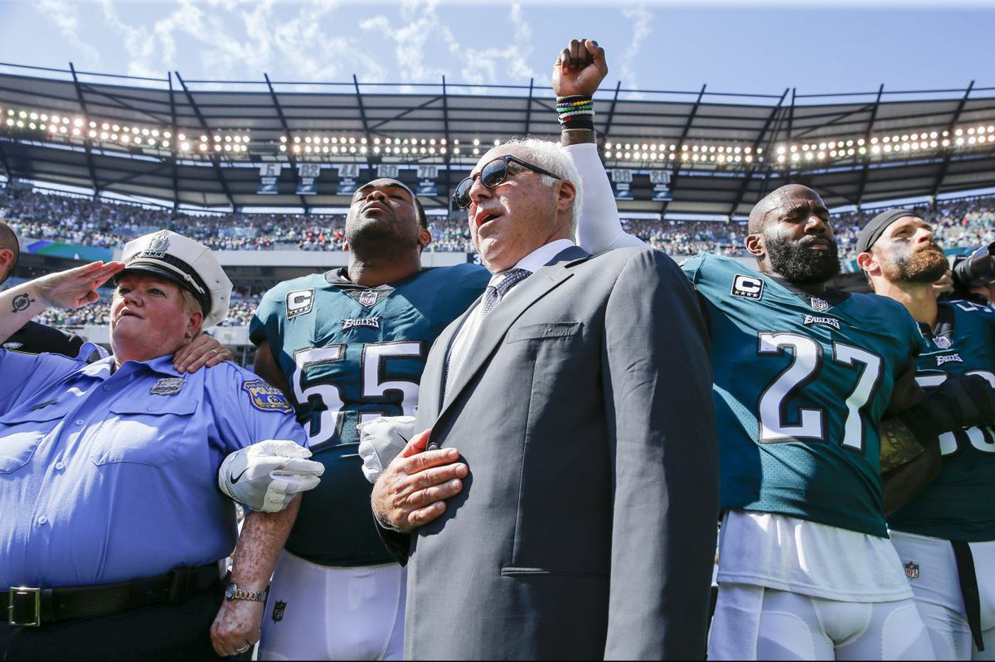 NFL anthem policy attempts to end protests, but controversy surrounding them lives on