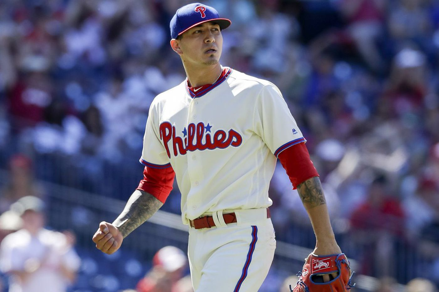 Phillies' Vince Velasquez confident that 'big year' will be this season