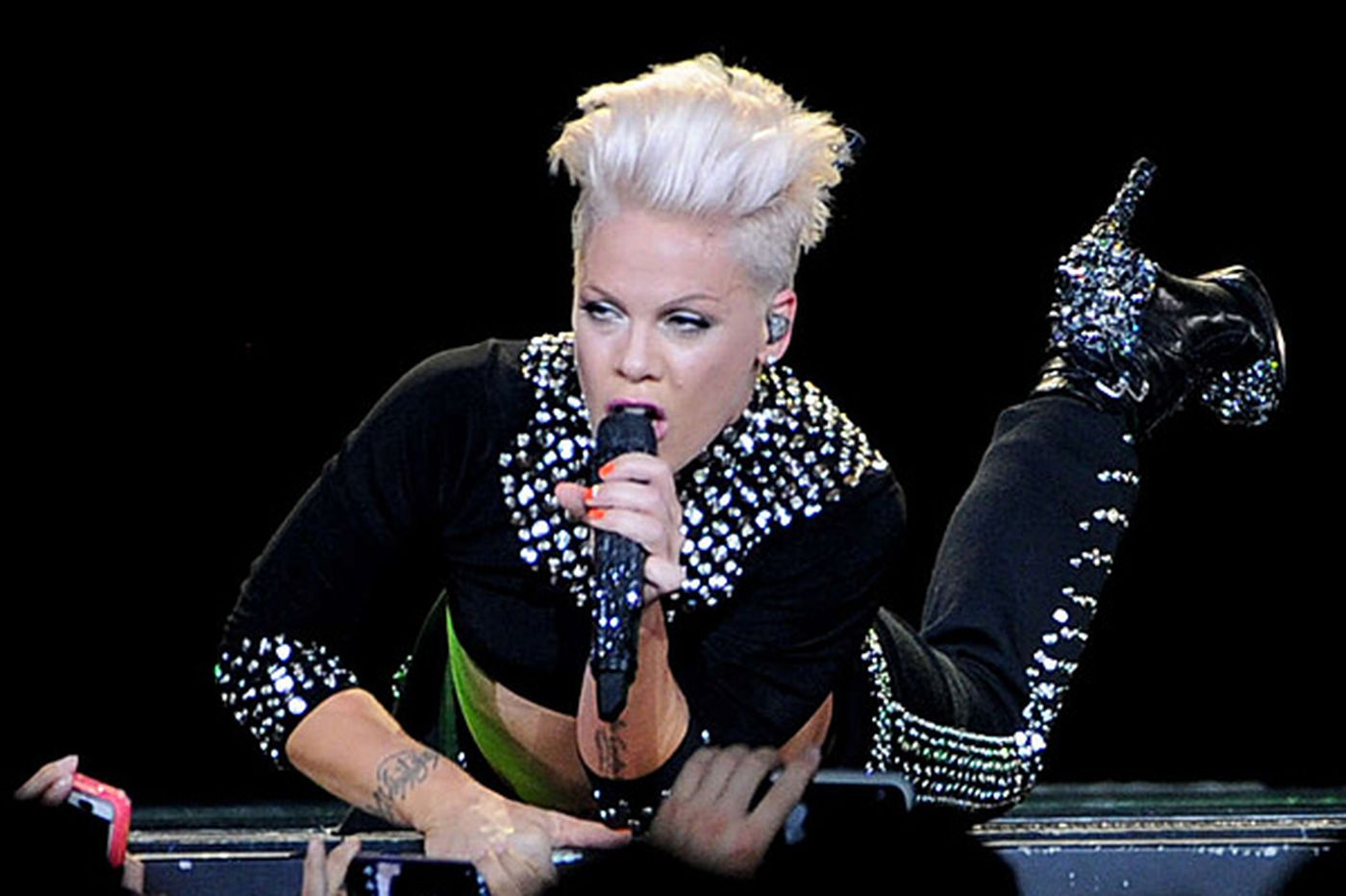 Pink returns with a singing circus