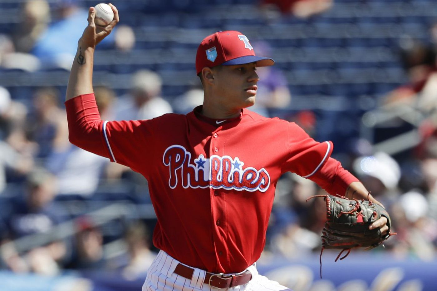 Phillies pitcher Yacksel Rios shines in season debut to finish 'a crazy day'