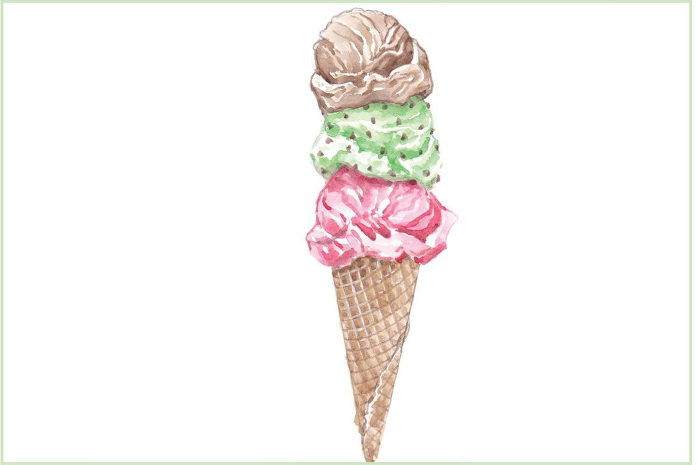 Hey Kids Draw This Ice Cream Cone For A Chance To Have Your
