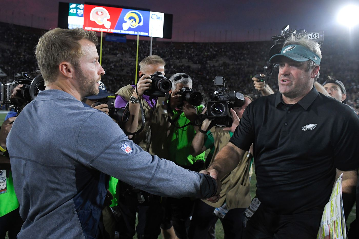 Doug Pederson, Carson Wentz and the Eagles look better long-term than Sean  McVay, Jared Goff