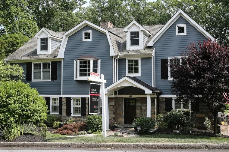 681 Knox Rd is listed at $1.3 million. Duffy Real Estate agent Pam Owsik says Wayne has the more expensive houses in Upper Merion township.