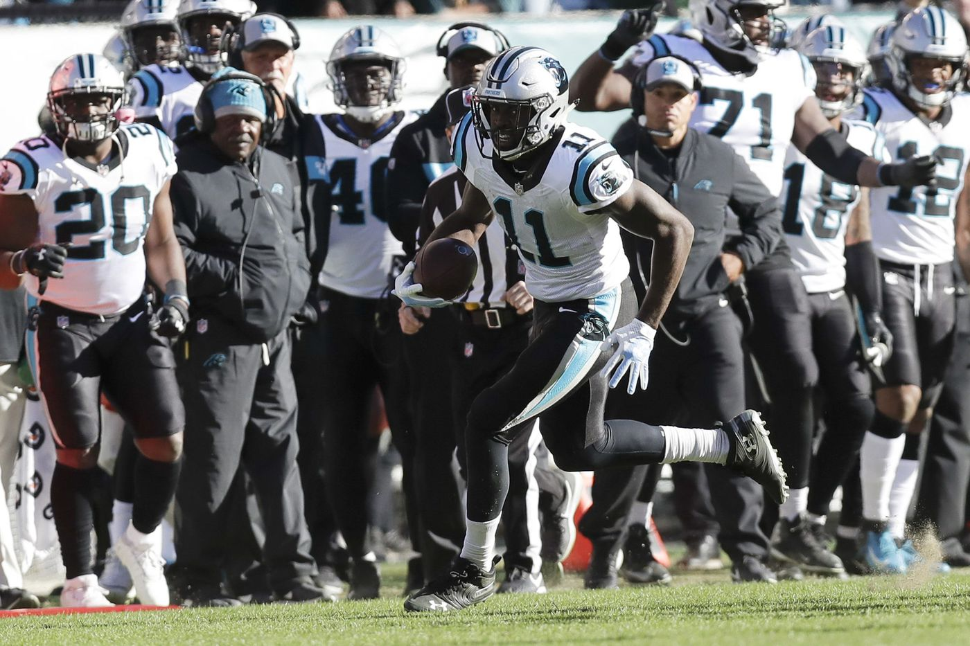 Hardest thing to explain is how easily Eagles' defense folded to Panthers in the fourth
