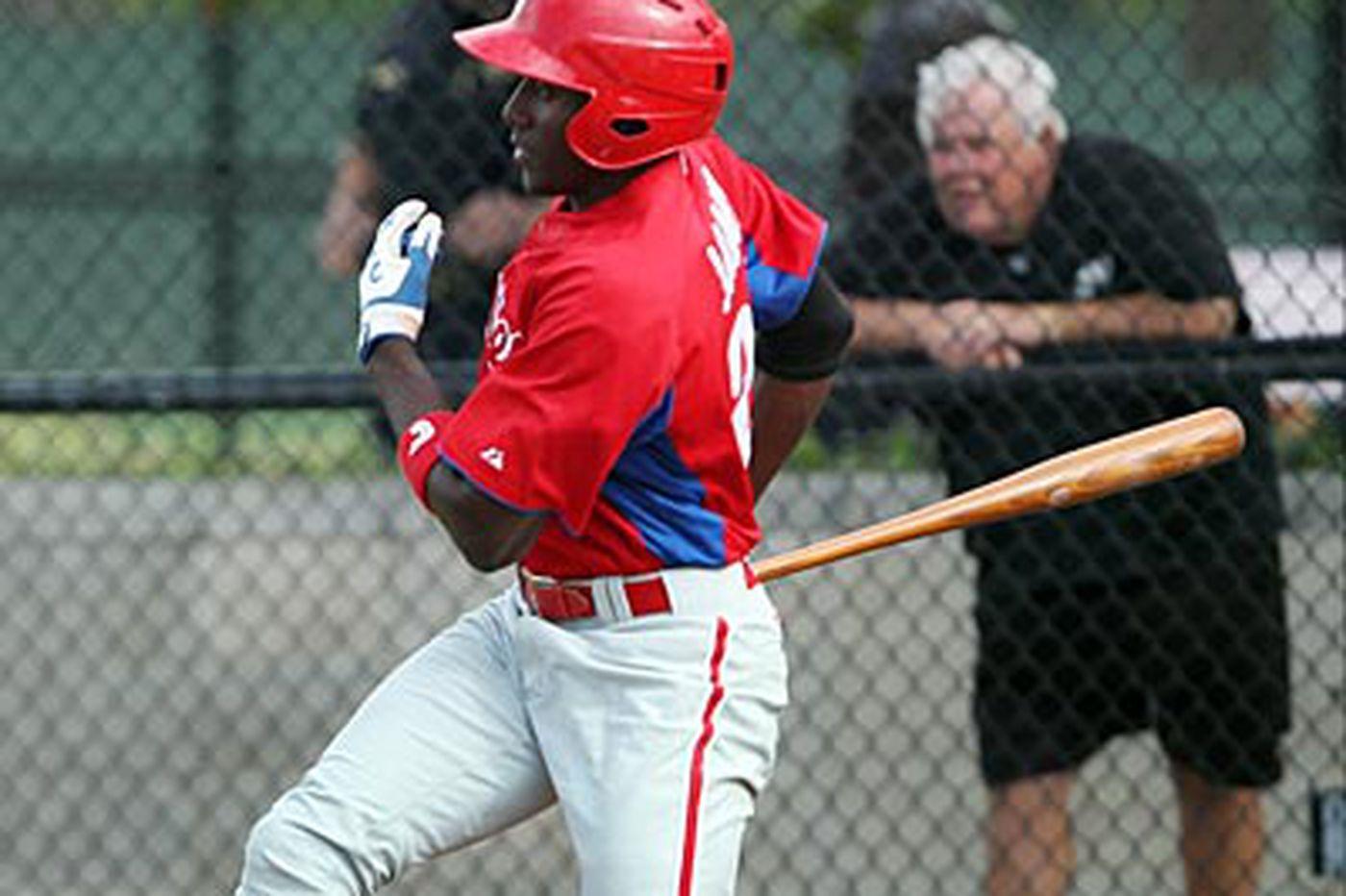 David Murphy: Jiwan James on a major tear in Phillies minors