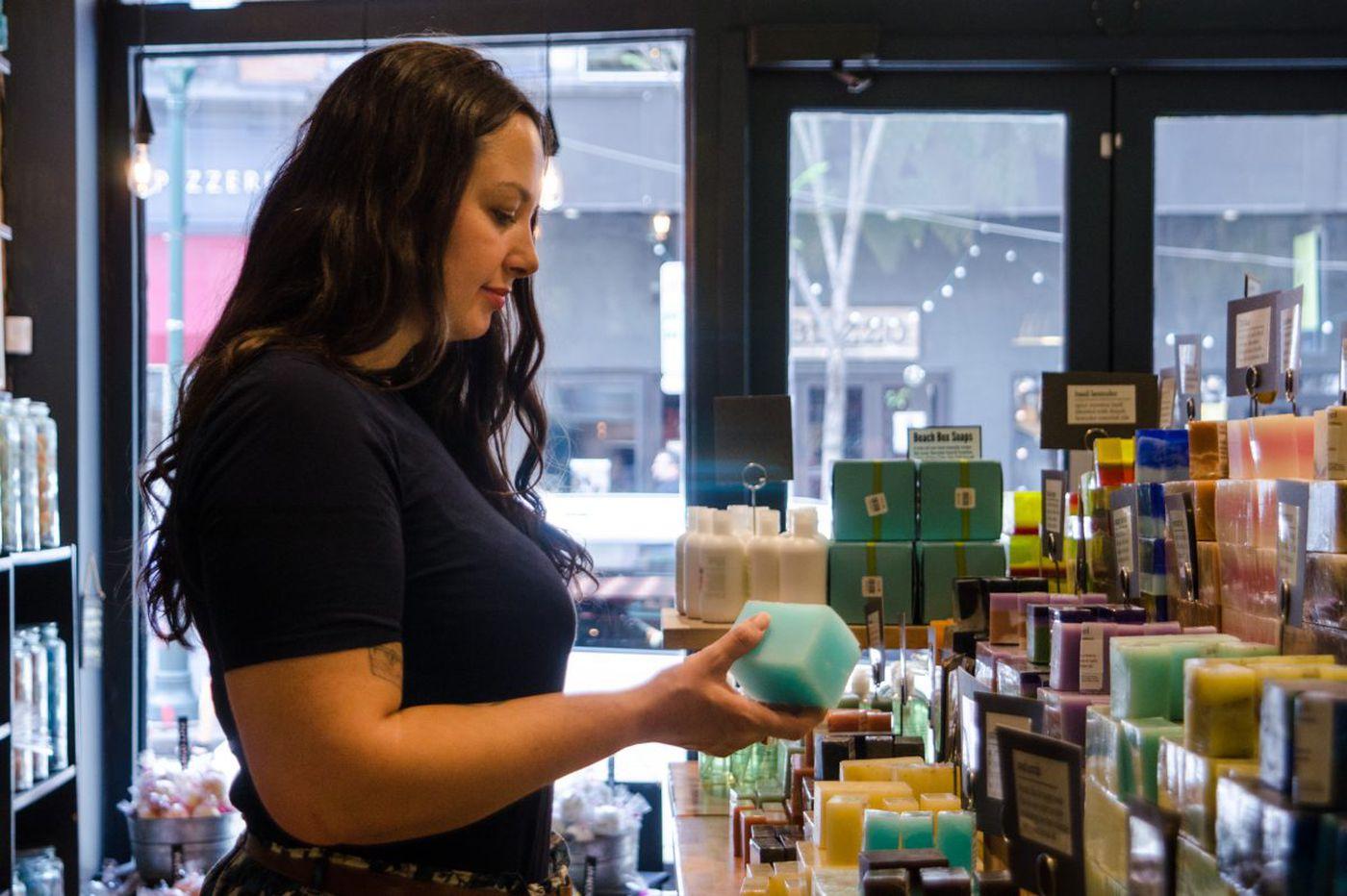 Bar soaps get love from millennials raised on the liquid stuff