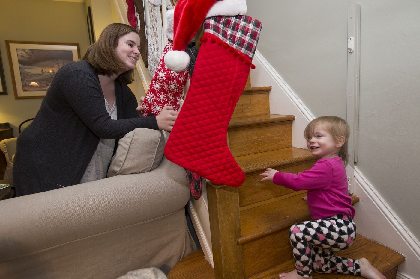 Ask Jennifer Adams: Holiday stocking solutions when you have no fireplace