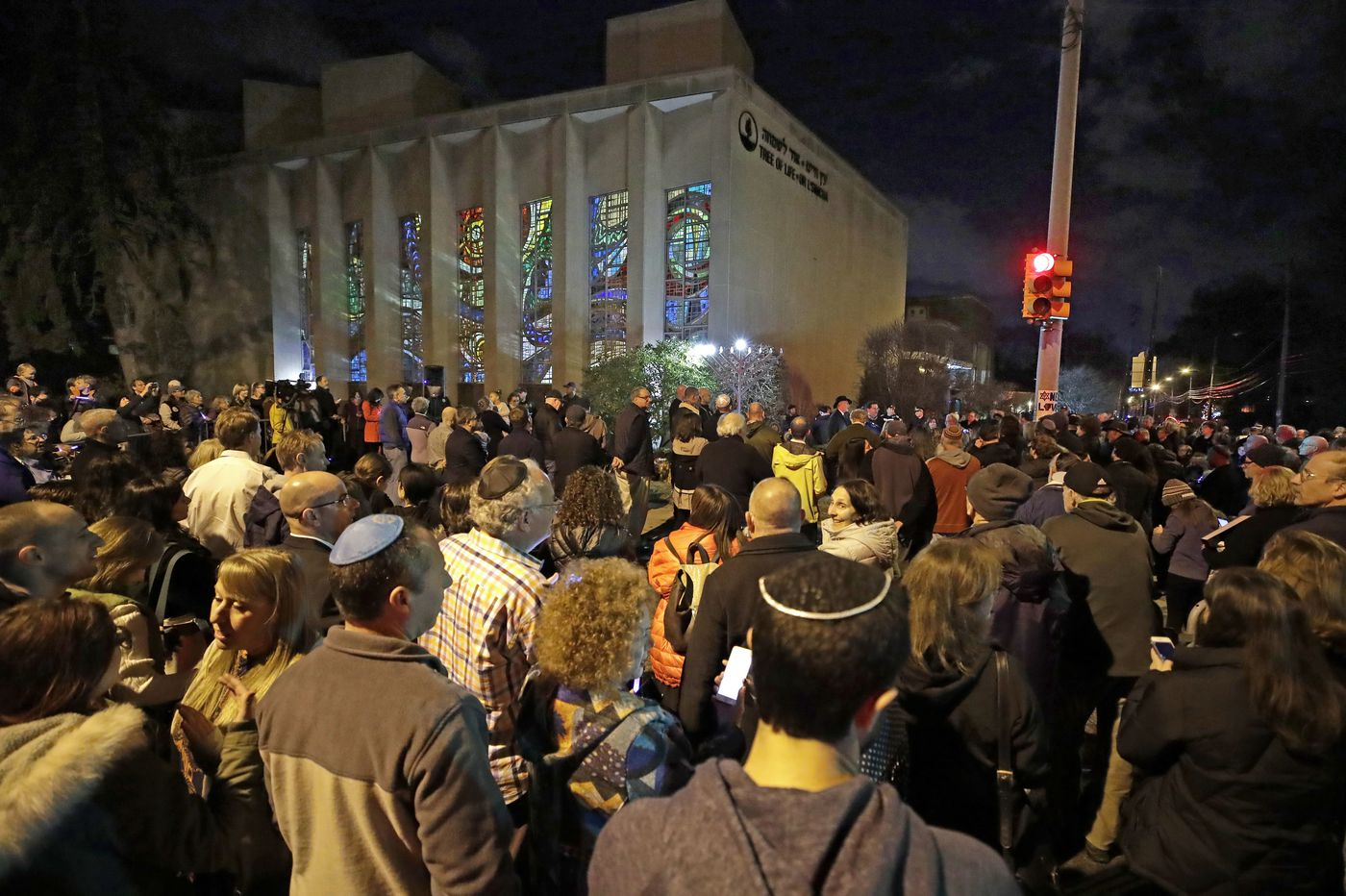 Anti-Semitic papers reported near Pa. synagogue shooting site, elsewhere