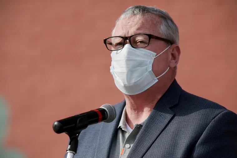 Philadelphia Mayor Jim Kenney on March 12.