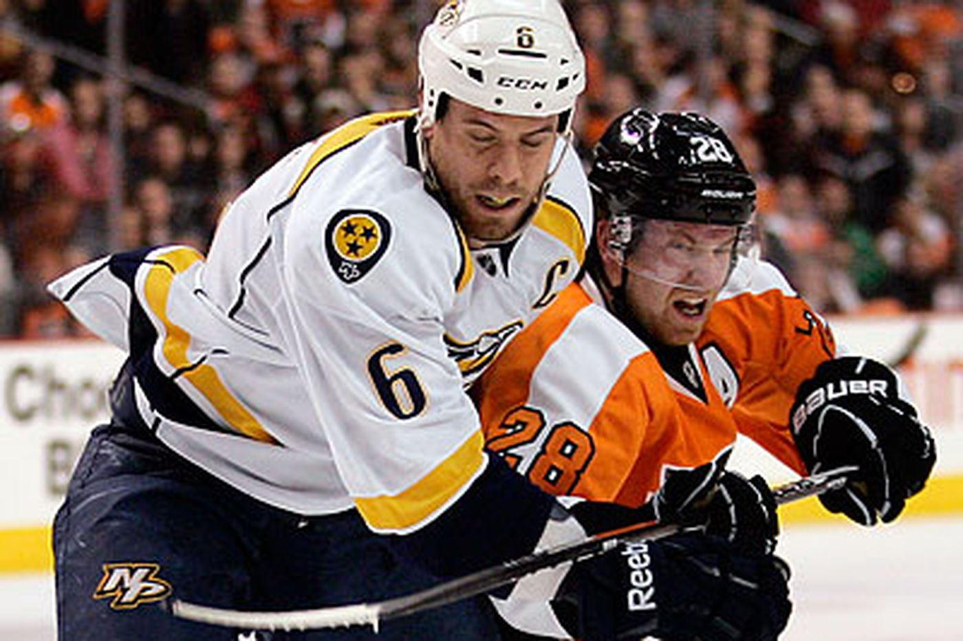 Nashville Predators say they're undecided on Flyers' offer sheet to Shea Weber