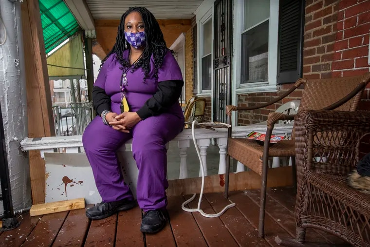 Lolita Owens, a Philadelphia home health aide, has counseled coworkers to get vaccinated.
