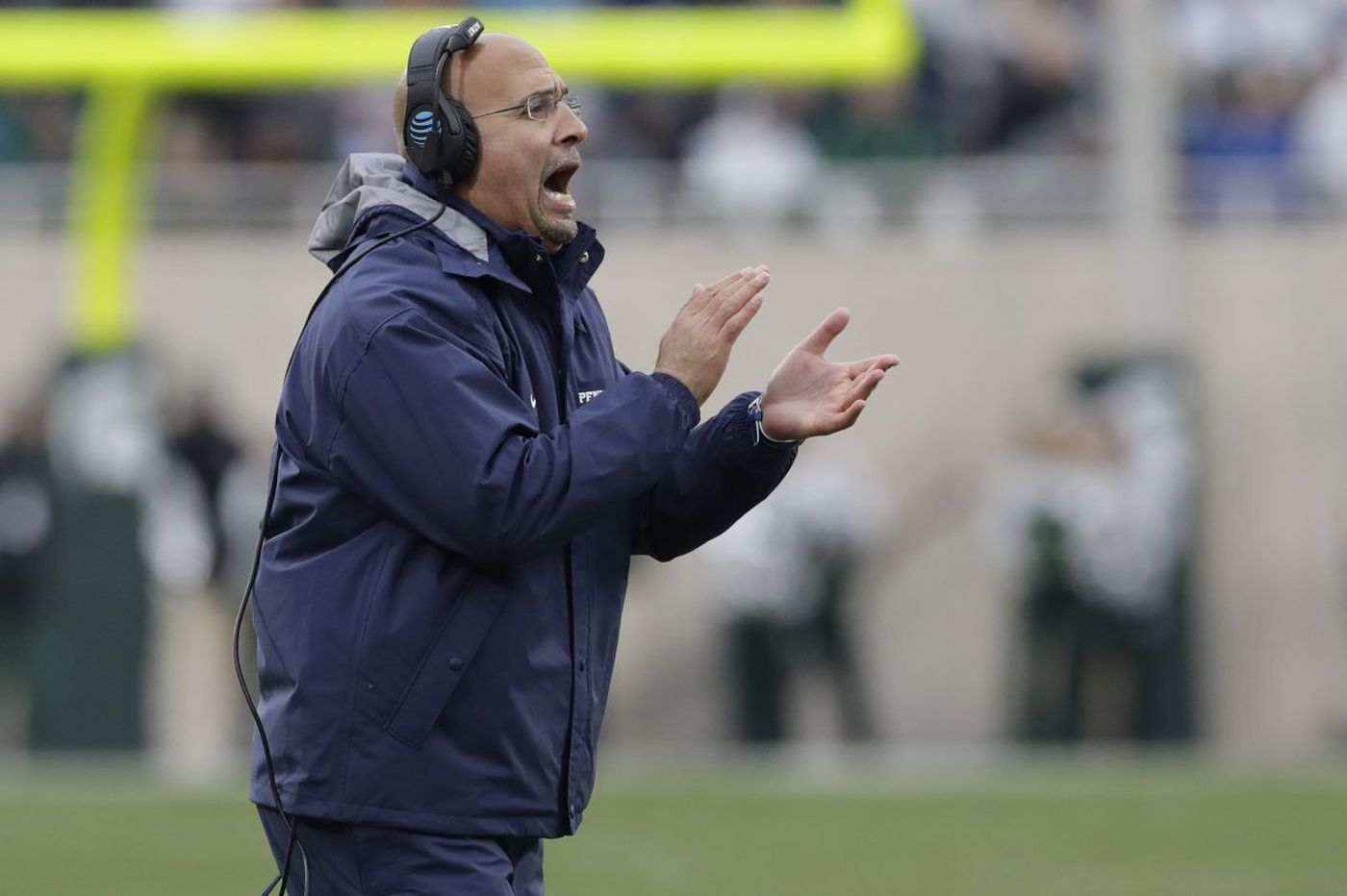 Penn State's James Franklin admits weather affected the game, but wouldn't make excuses