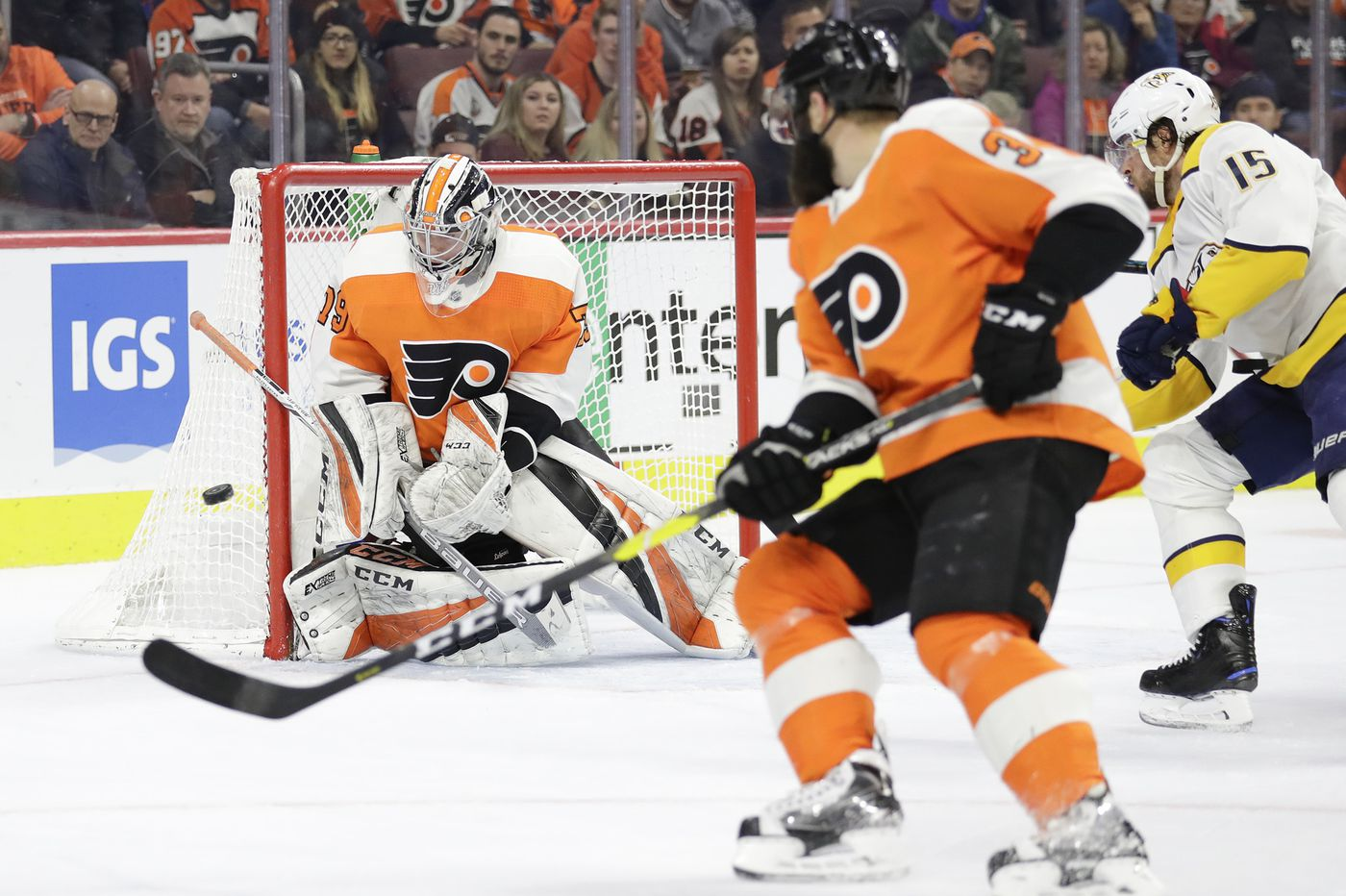 Carter Hart to earn third straight start when Flyers host Blue Jackets