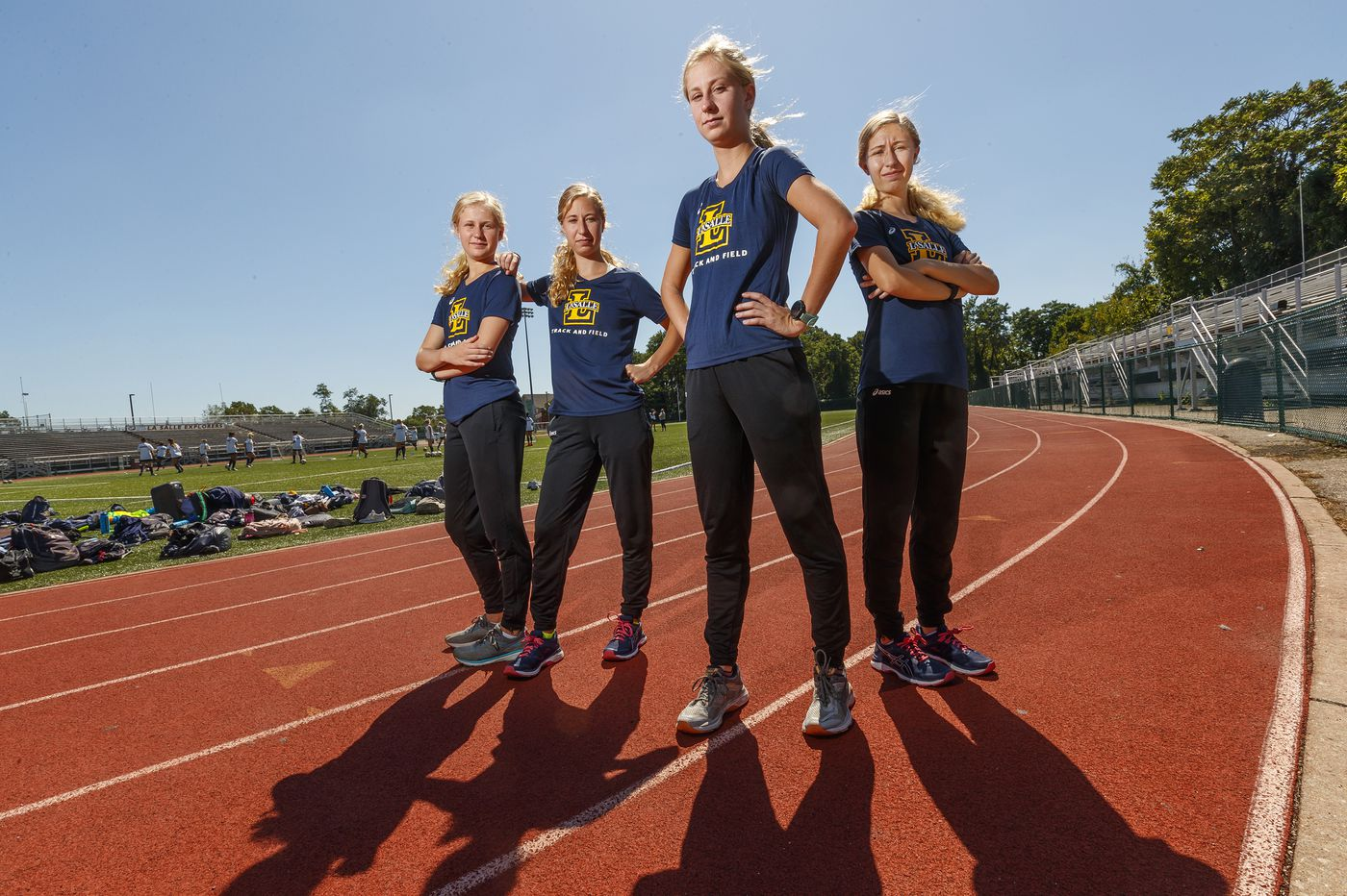 How many Mancini sisters run cross-country for La Salle? This year, four. | Mike Jensen