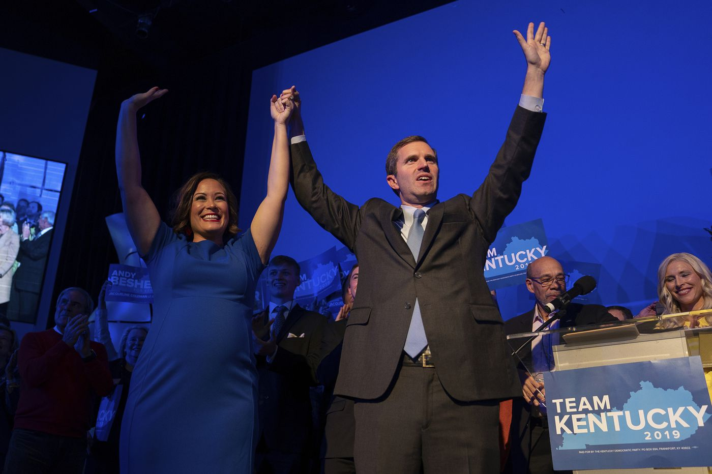 Democrat Andy Beshear wins race for Kentucky governor; Republican Matt Bevin yet to concede
