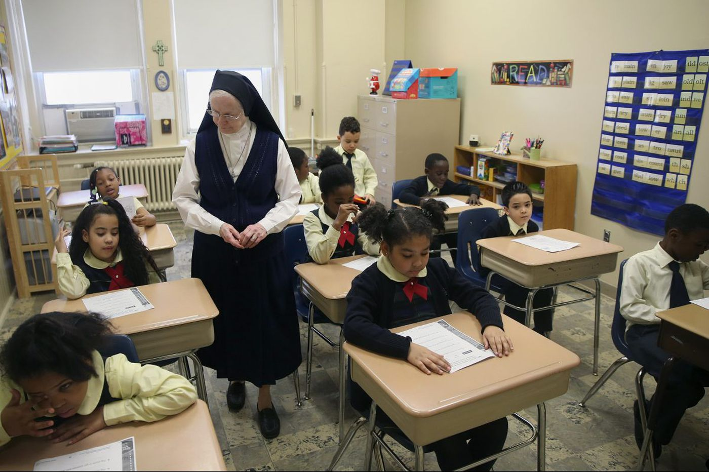 Catholic schools have fewer nuns, but those who remain inspire