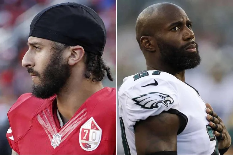 Colin Kaepernick and Malcolm Jenkins have been the faces of the NFL players' protests of racial injustices, but each in different ways.