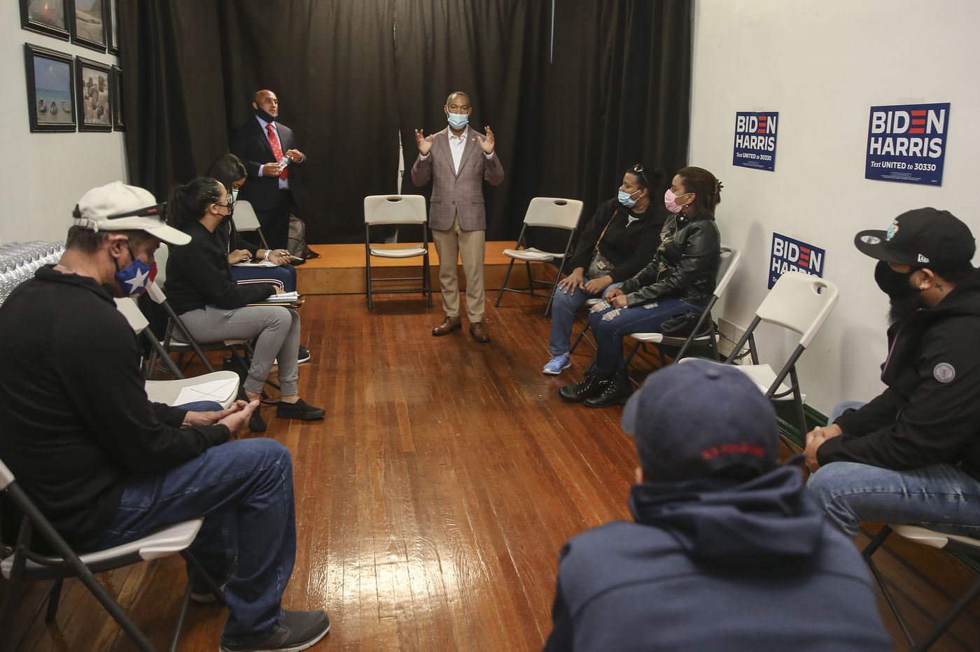Latinos in Pennsylvania worry the Biden campaign's outreach is coming too late