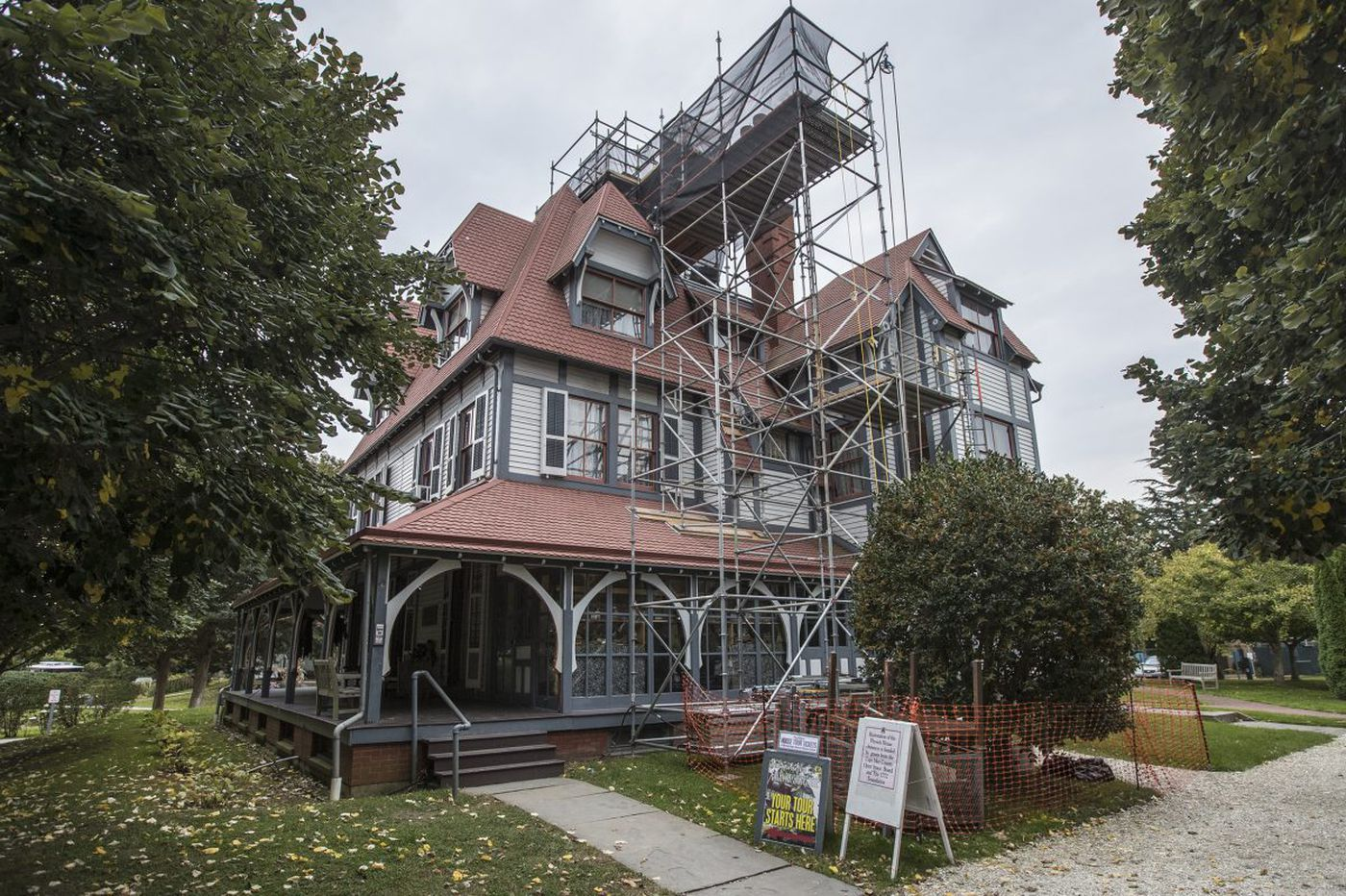 Cape May ghost tours offer visitors a supernatural Halloween