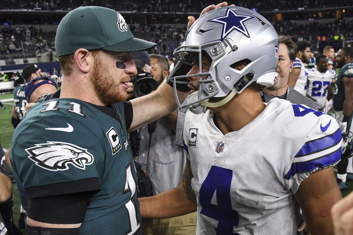 Carson Wentz outshines Dak Prescott as Eagles destroy Cowboys | Marcus Hayes
