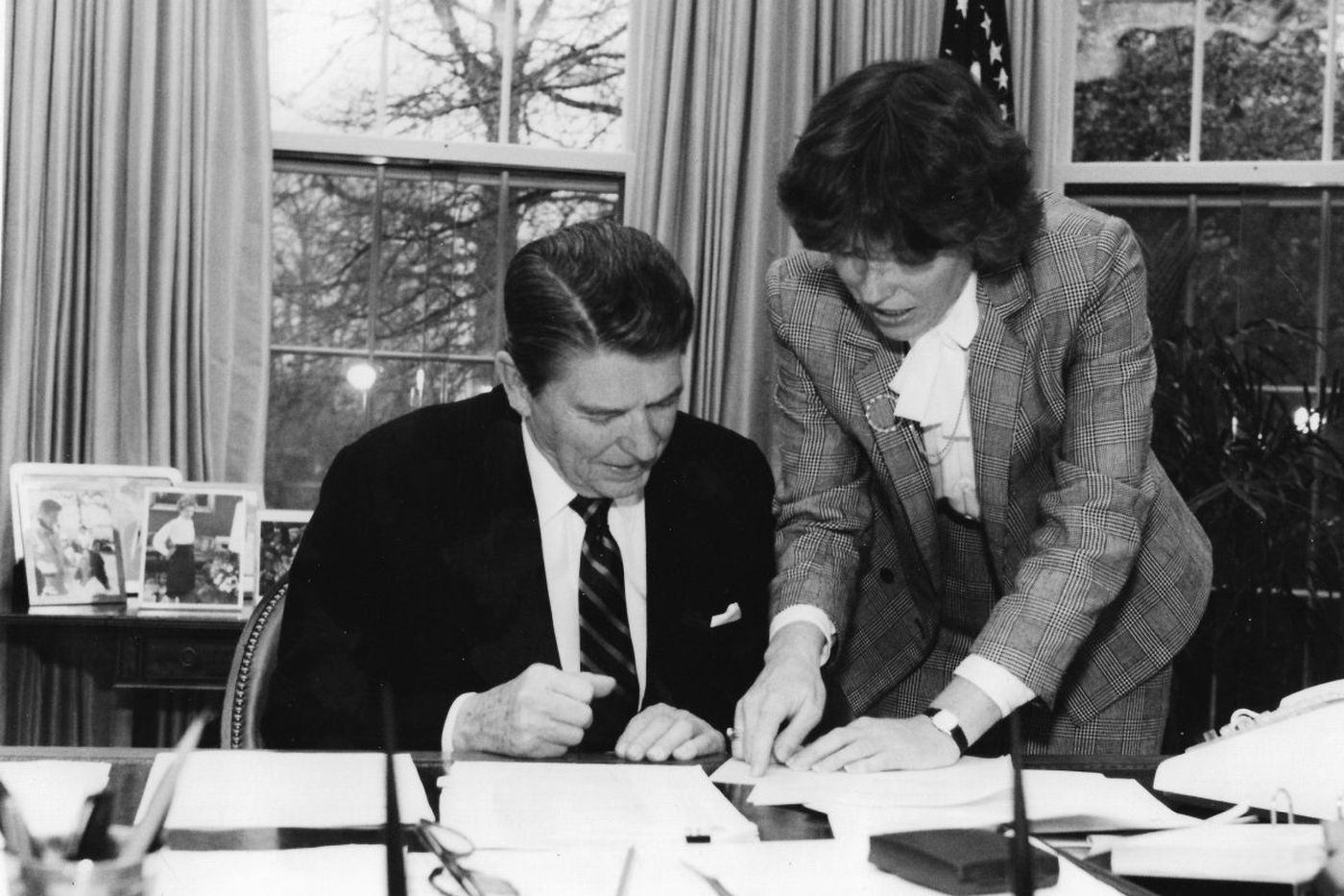 Faith Ryan Whittlesey, 79, top Reagan aide and two-time ambassador to Switzerland