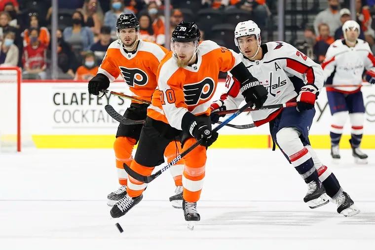 Rasmus Ristolainen was one of three defensemen brought in this offseason by Chuck Fletcher to help remake the Flyers defense.