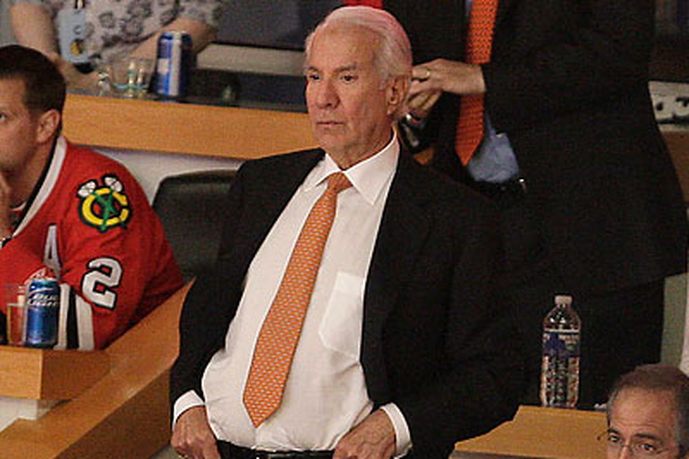 Flyers owner Snider weighs in on team's goalies