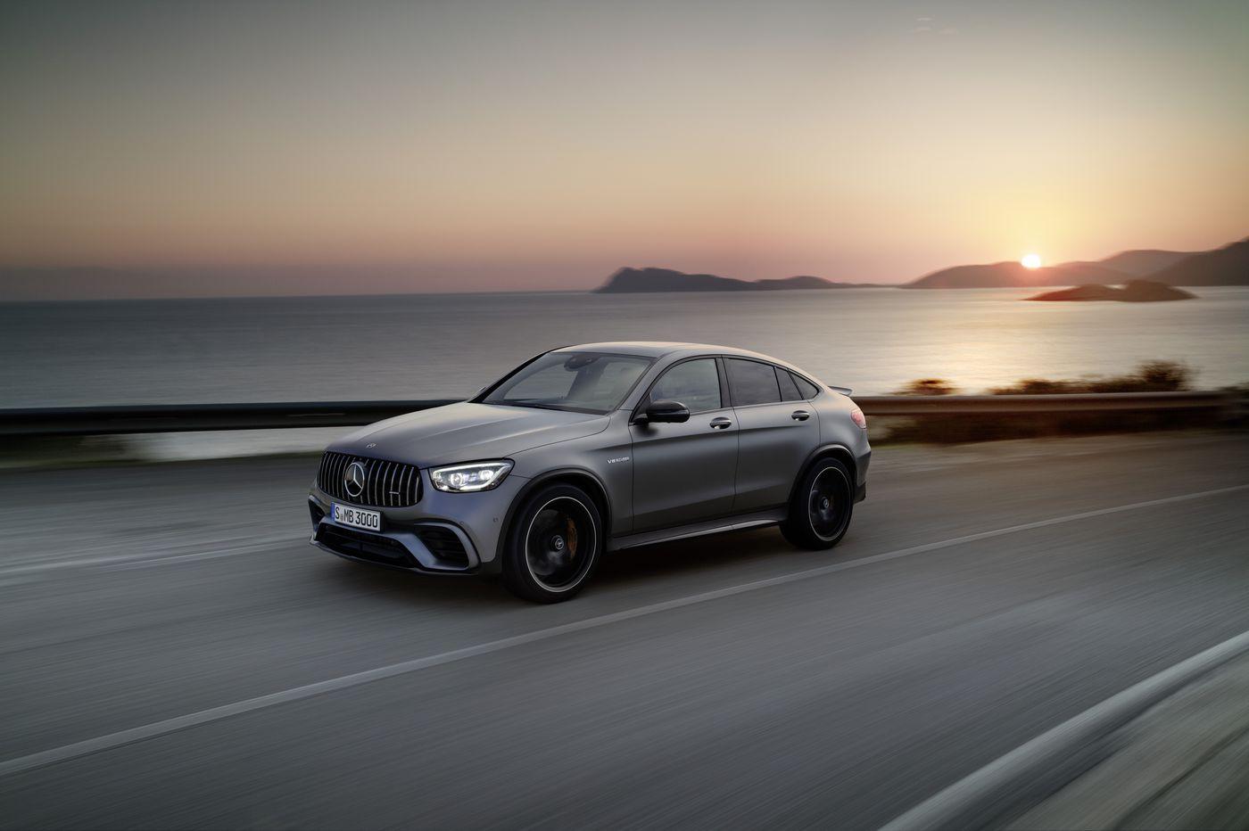 Sporty Mercedes crosses over many boundaries
