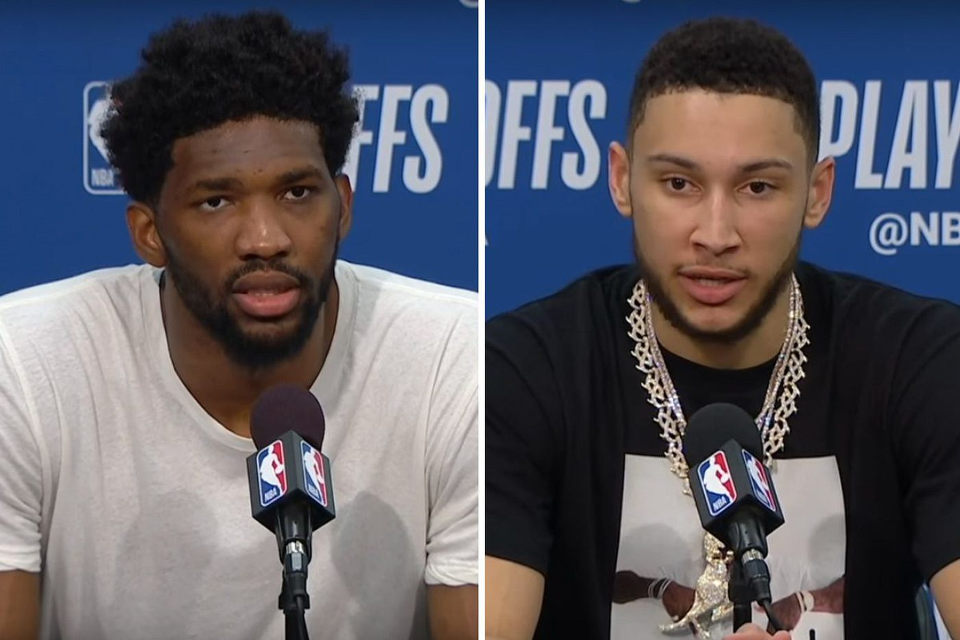 Joel Embiid's shirt sends a message, ESPN trying something new