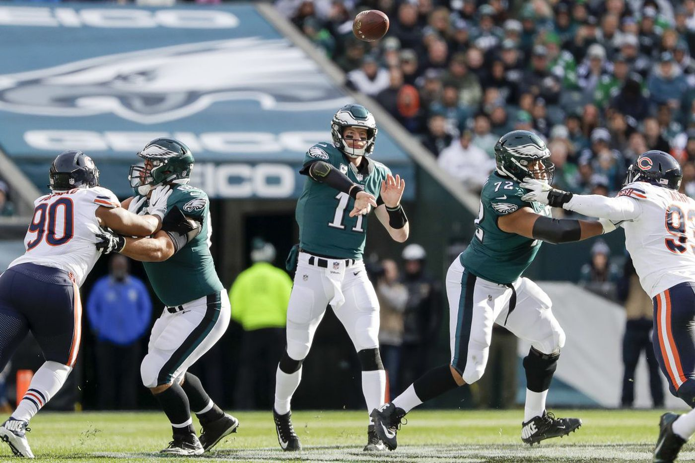 Five reasons the Eagles beat the Bears | Paul Domowitch