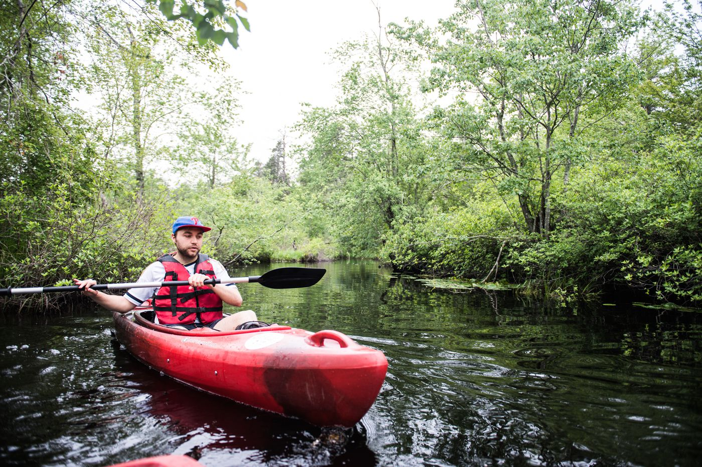Where to rent and use kayaks and canoes in and near Philadelphia