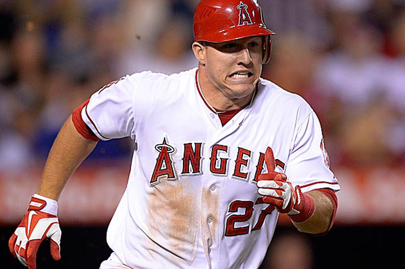 Writers to Honor Angels' Mike Trout