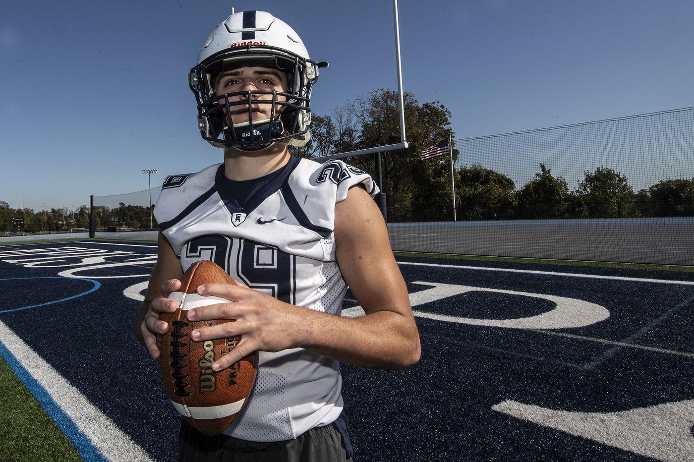 Episcopal Academy's Matt Bush does the dirty work for an undefeated football team