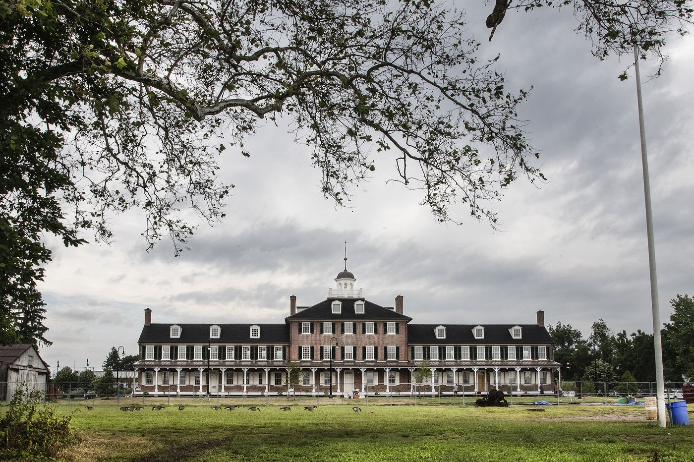 This building on the Delaware River saved immigrant lives for 95 years. Now it's been rescued by Tinicum Twp. | Inga Saffron